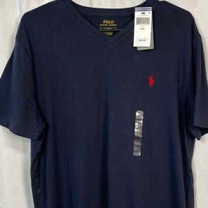 NWT Polo 🐎 Ralph Lauren Vneck T-shirt Medium